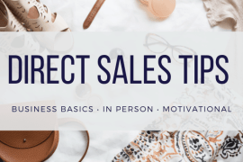 Direct Sales Tips for Direct Sellers