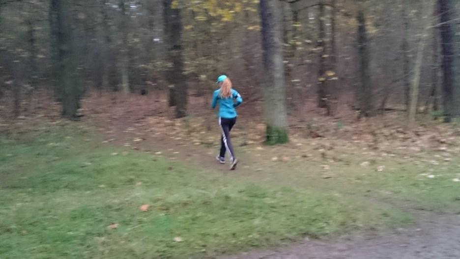 Im Wald für #RunForCHoG