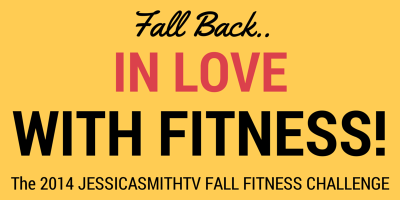 JessicaSmithTV Fall Fitness Challenge