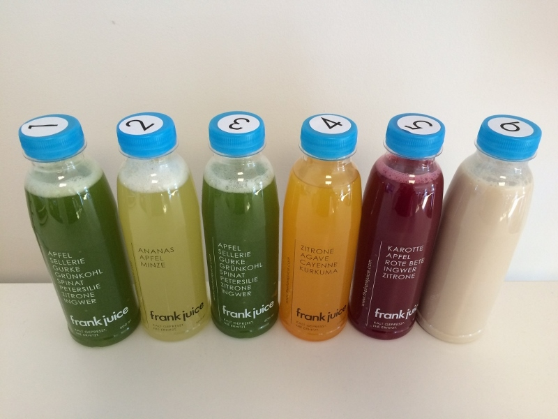 Juice Cleanse Tagesdosis