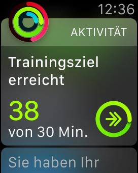 Trainingsziel