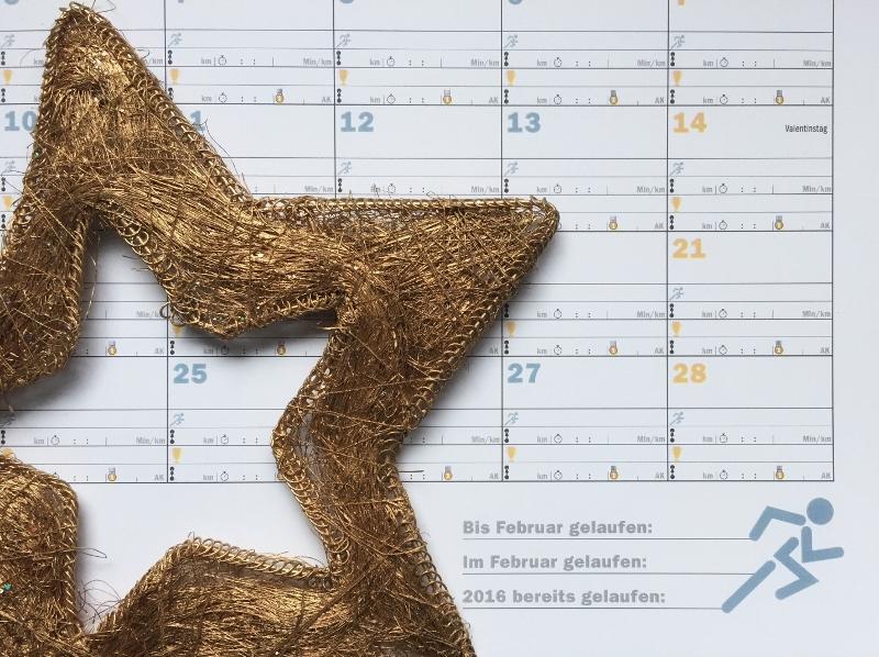 Mein Laufjahr Kalender - Adventskalender für Läufer