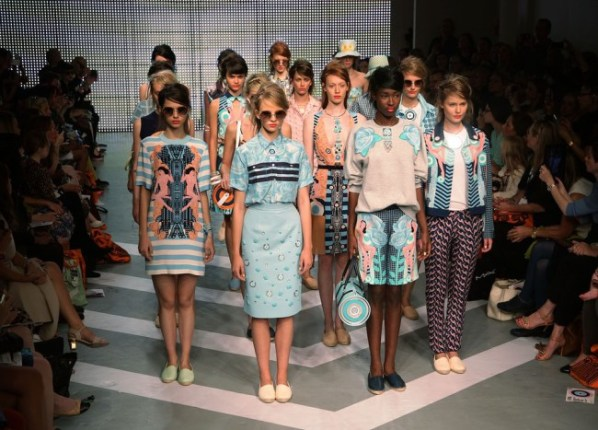 Holly Fulton Catwalk - London Fashion Week
