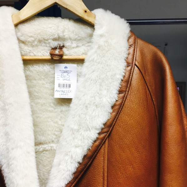 Antartex Sheepskin coat