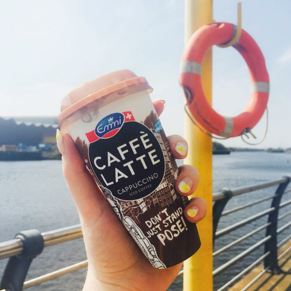 A mid afternoon walk along the Clyde with my iced coffee #MakeItAYayDay