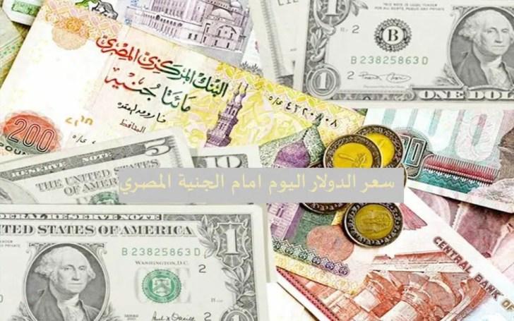 سعر الدولار اليوم بالجنية المصري