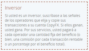 Inversor Copy Trading