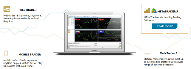 LegacyFX Trading platforms
