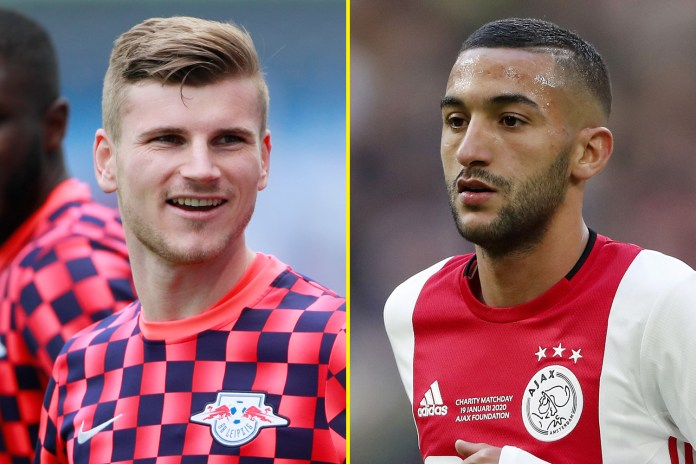 Timo Werner and Hakim Ziyech have joined Chelsea already