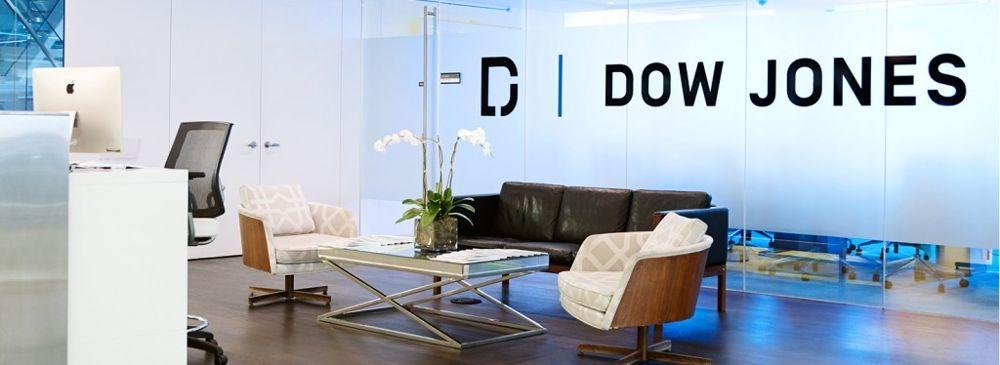 dow jones office-reception-area