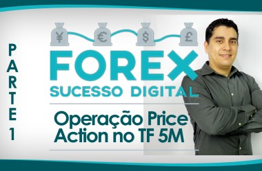 Estratégia Price Action Ao Vivo no Time Frame de 5 Minutos