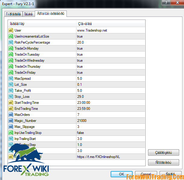 Forex Fury V2 EA Cost 999 Full Working Version