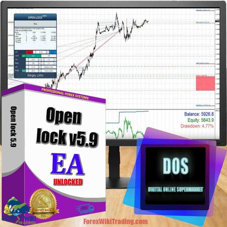 EA forex Mở khóa 590 Đáng giá 9 Phiên bản miễn phí