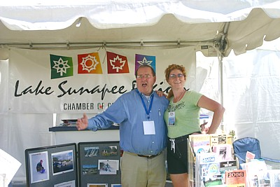 Chamber of Commerce outdoor booth