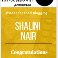 Winner Announcement - Food Blog