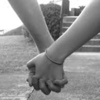Holding hands....