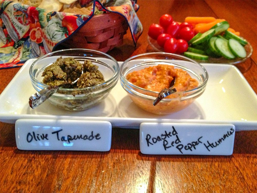 Homemade Tapenades & Hummus' Offer a Healthy Choice in Wine Country