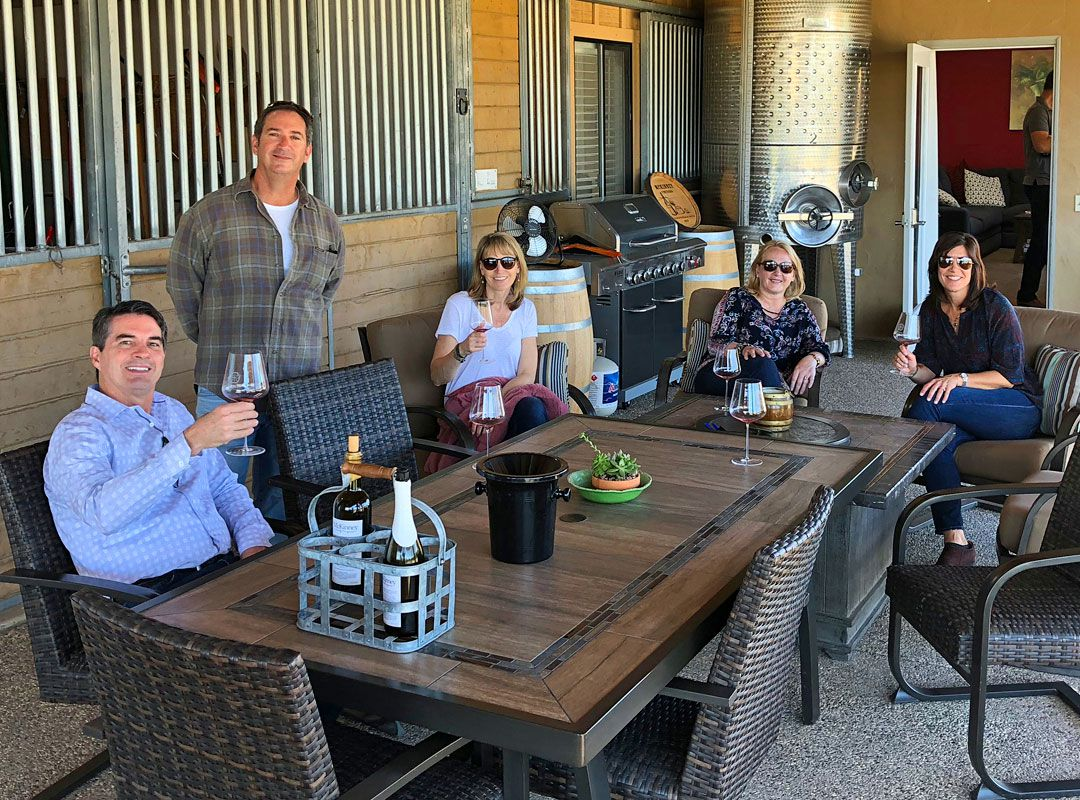 Wine Tasting at McKinney Family Vineyards in Santa Ynez