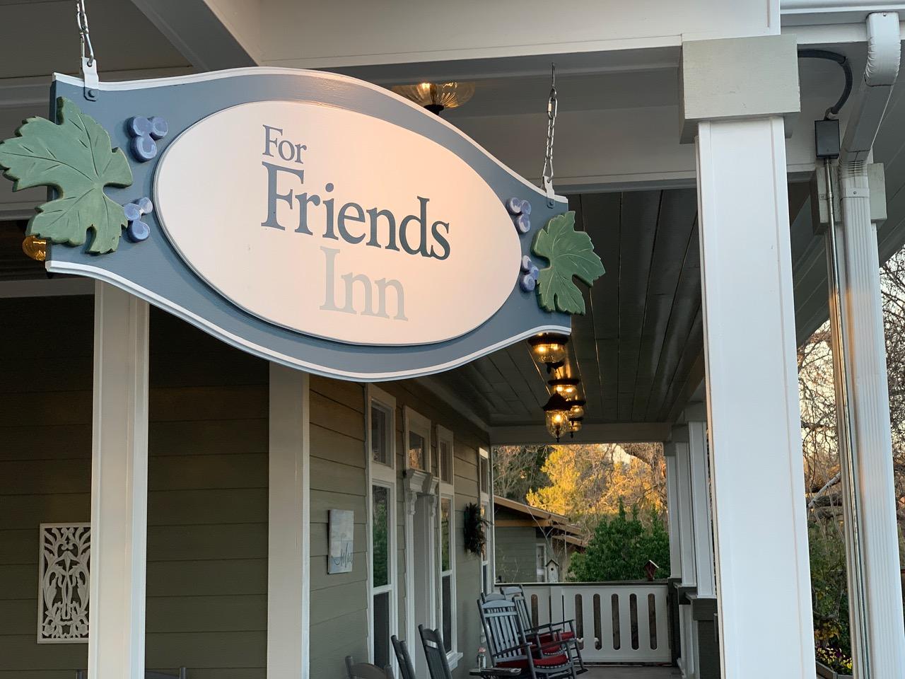 ForFriends Inn signage | ForFriends Inn
