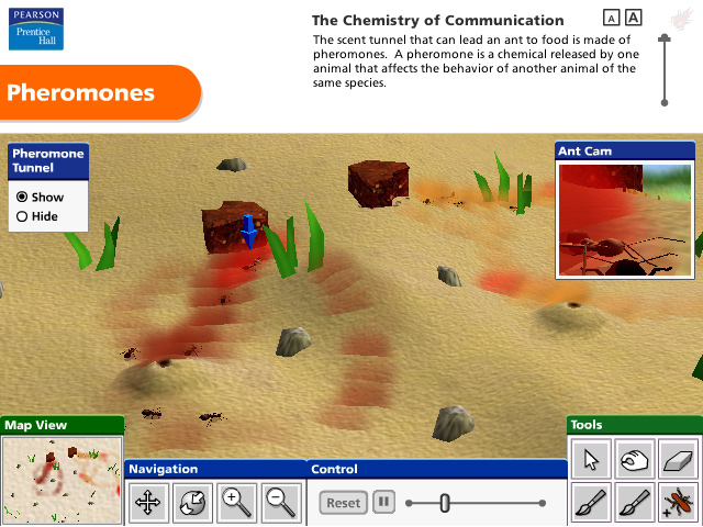 Interactive 3D Communication Simulation