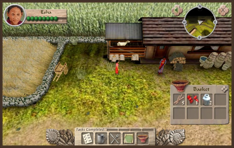 Heifer International  Educational Simulation   ForgeFX Training     Simulation Based E Learning Game