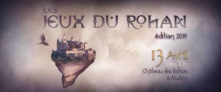 """Evénement """"Les Jeux du Rohan"""" édition 2019 par Les ForgeMondes"""