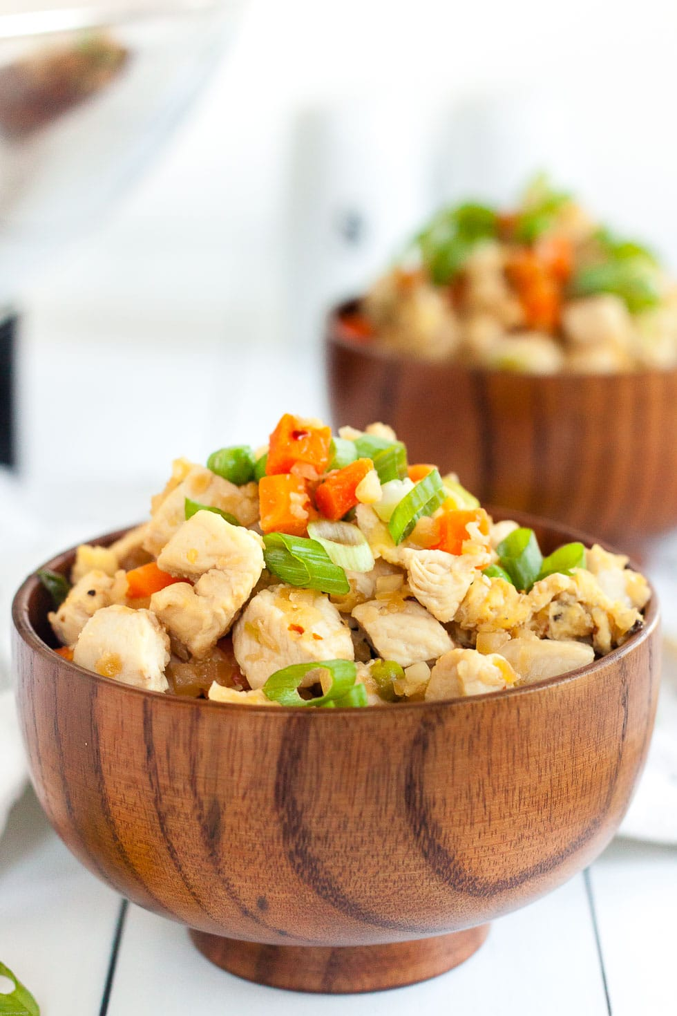 Keto Fried Rice Recipe with Chicken