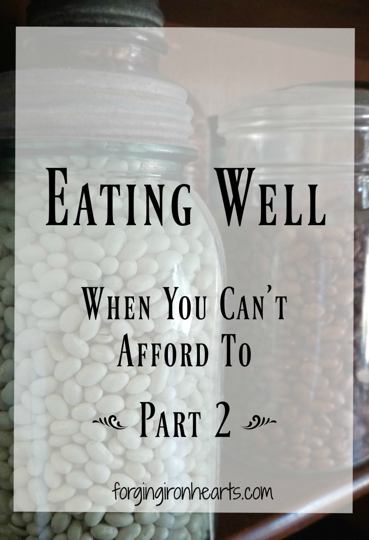 Eating Well When You Can't Afford To ~ Part 2