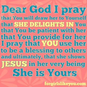 Lord, She Is Yours