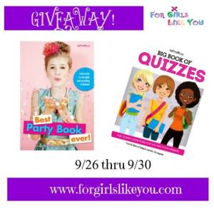Giveaway: Big Book of Quizzes & Best Party Book Ever