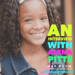 An Interview with War Room Actress Alena Pitts