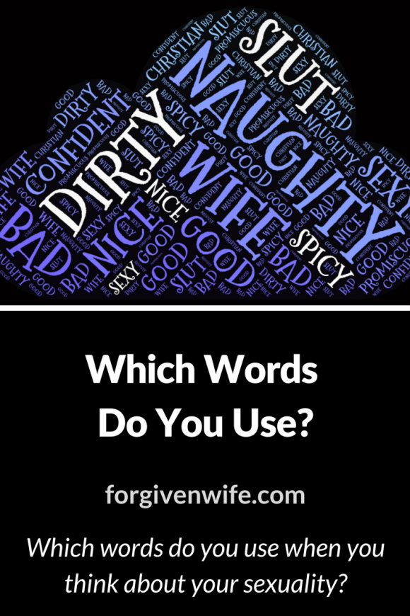 Which words do you use when you think about your sexuality?