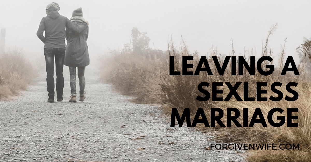 How to leave a sexless marriage