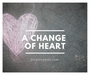 One blog post began to change my heart toward my husband.
