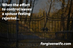 Do you and your husband feel stifled in your marriage?