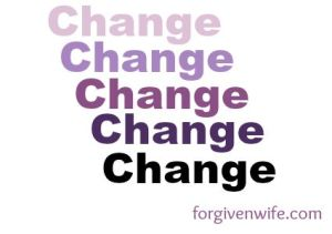 I resisted change for so many years. Once I stopped fighting, my life got so much better.