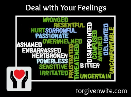 Dealing with your feelings can help your heart heal.