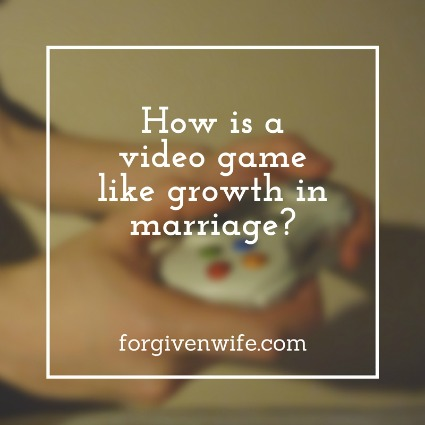 Can a video game show us anything about how we grow in our marriages? The answer turns out to be yes!