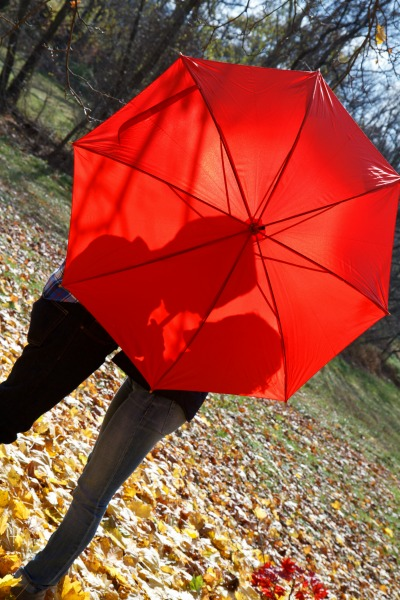 A good Christian marriage is like this red umbrella.