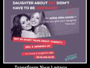 This awesome new resource can help you talk with your daughter about sex, puberty, and growing up.