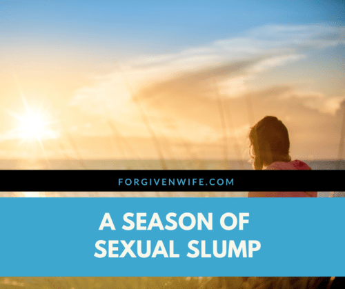 How can you pull out of a season with diminished sexual frequency?