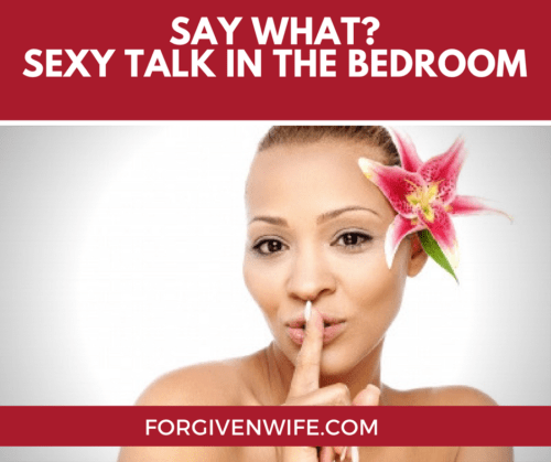 what to say in the bedroom
