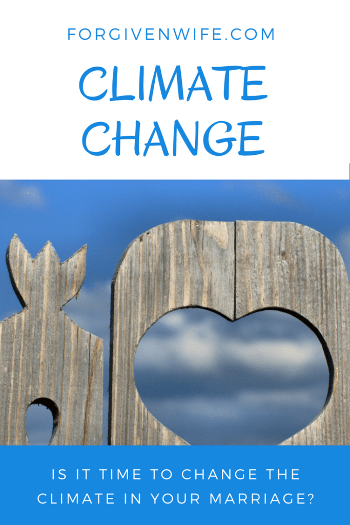 Is it time to change the climate in your marriage?