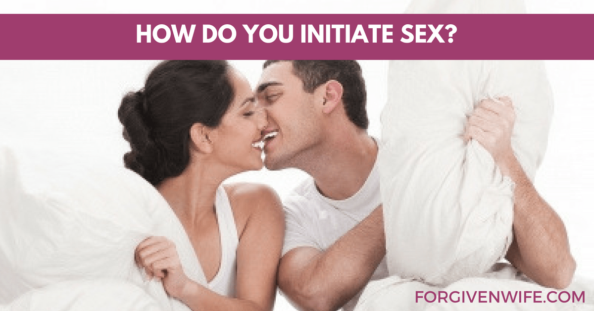 who should initiate sex