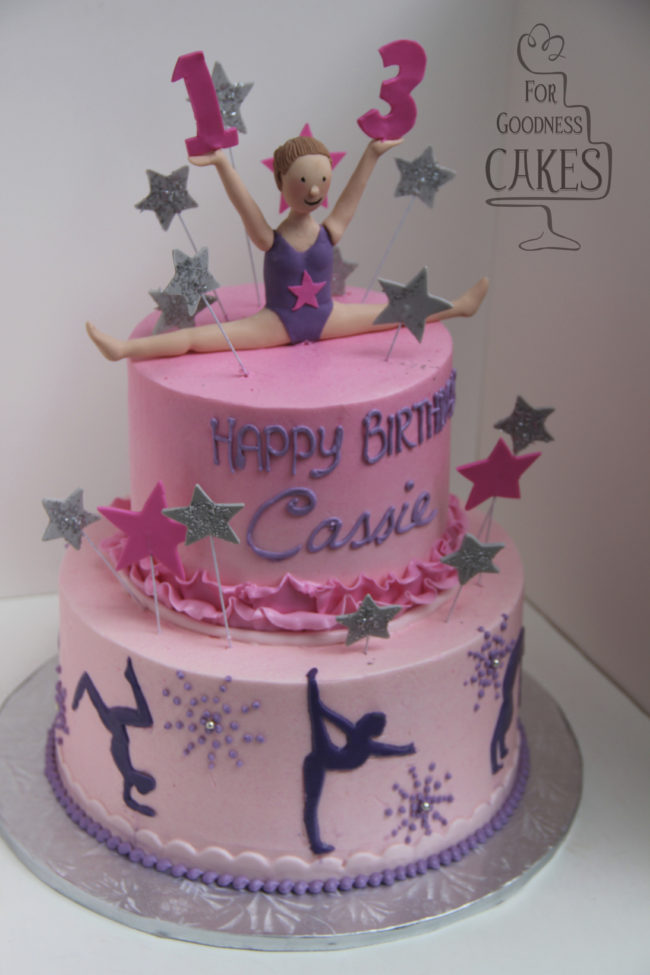 Gymnastics Cake For Goodness Cakes Of Charlotte