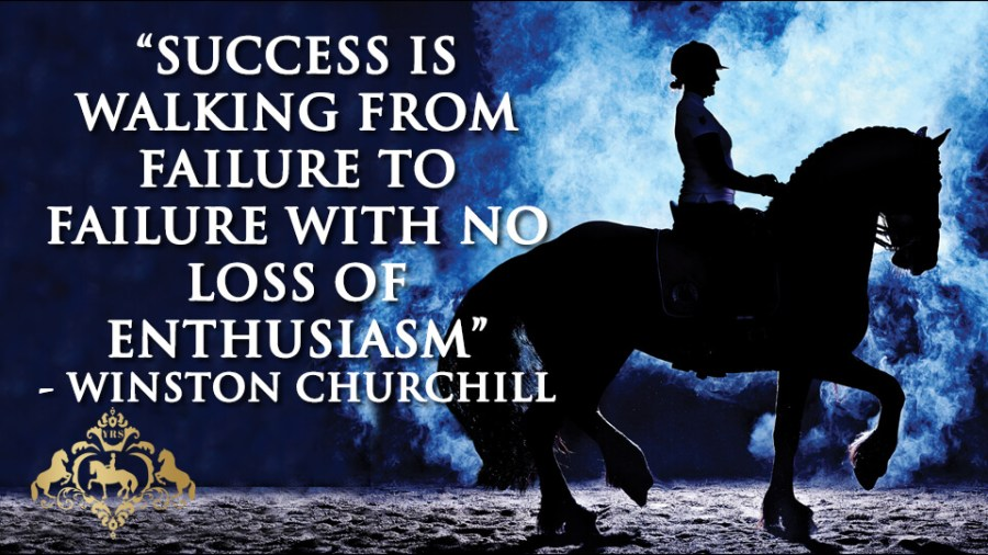 Success is walking from failure to failure with no loss of enthusiasm, ( Winston Churchill )