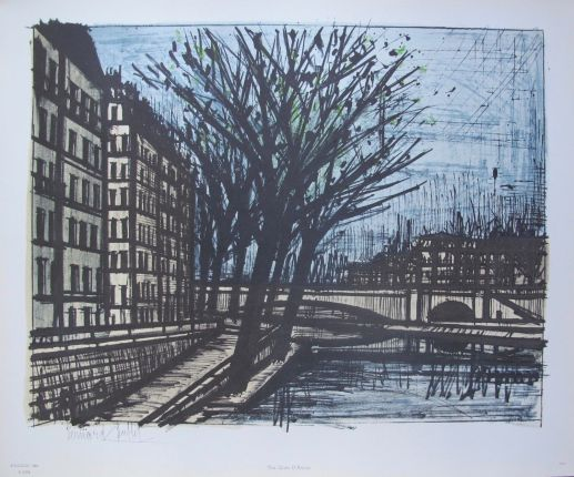Mouse over image to zoom Bernard-Buffet-THE-QUAI-DANJOU-1965-Facsimile-Signed-Lithograph-by-ADAGP Bernard-Buffet-THE-QUAI-DANJOU-1965-Facsimile-Signed-Lithograph-by-ADAGP Have one to sell? Sell now Details about Bernard Buffet THE QUAI D'ANJOU 1965 Facsimile Signed Lithograph