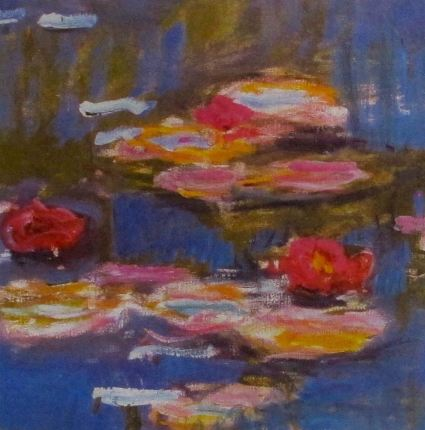Claude Monet WATER LILLIES (Detail I) Lithograph