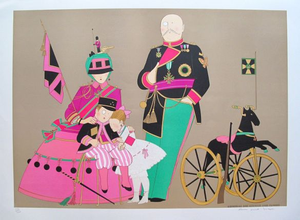 Denis Paul Noyer ADMIRAL Hand Signed Limited Edition Lithograph
