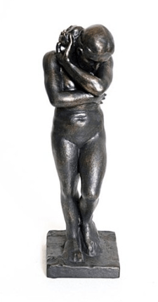 Auguste Rodin EVE Sculpture Figure Bonded Bronze